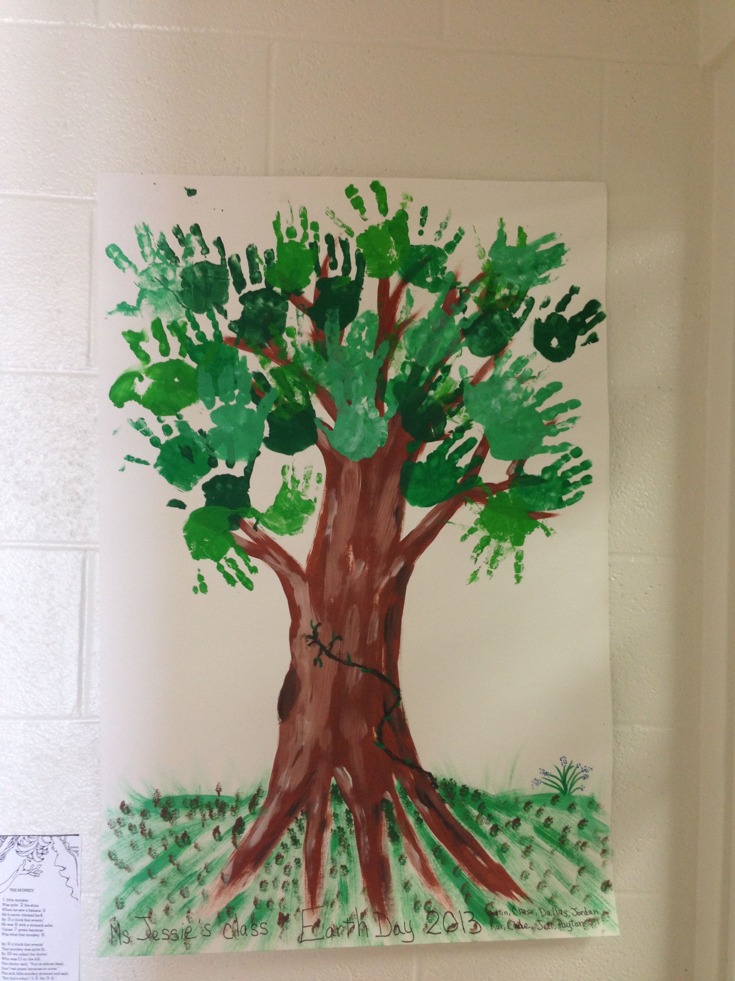 Earth Day Activity For Little Hands I Did This Today With