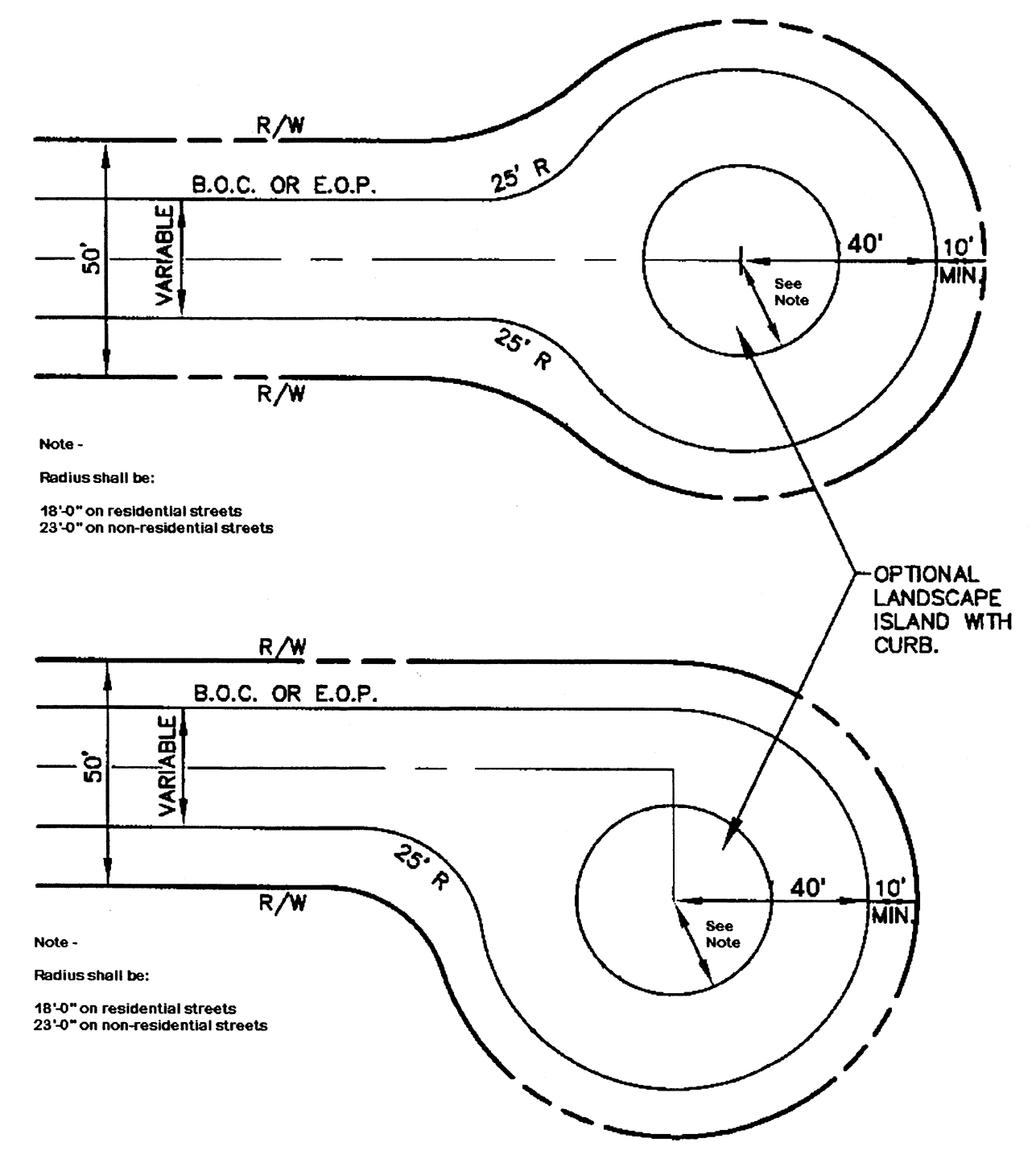 Standard Residential Driveway Dimensions