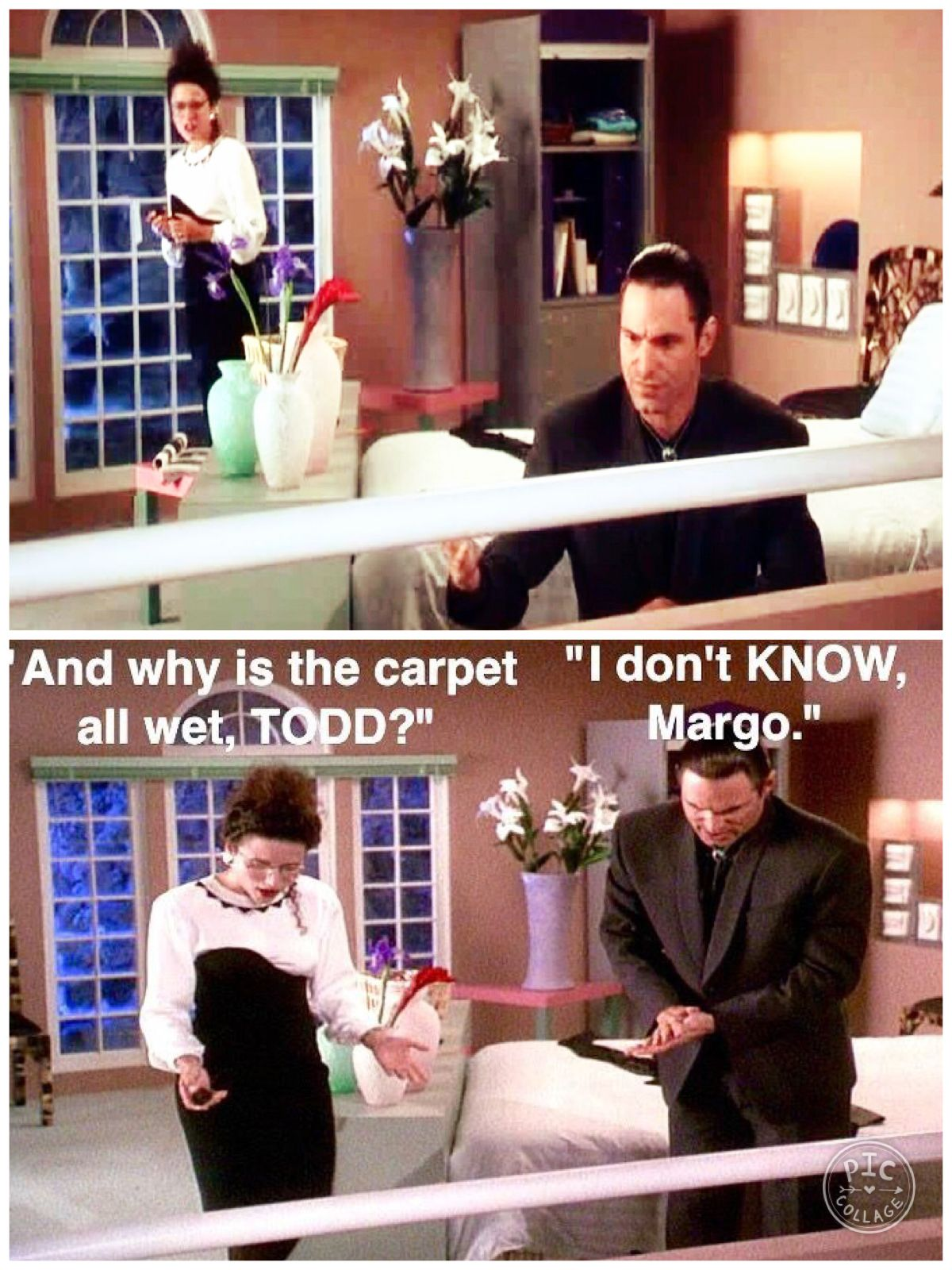 Christmas Vacation (1989) MARGO And why is the carpet