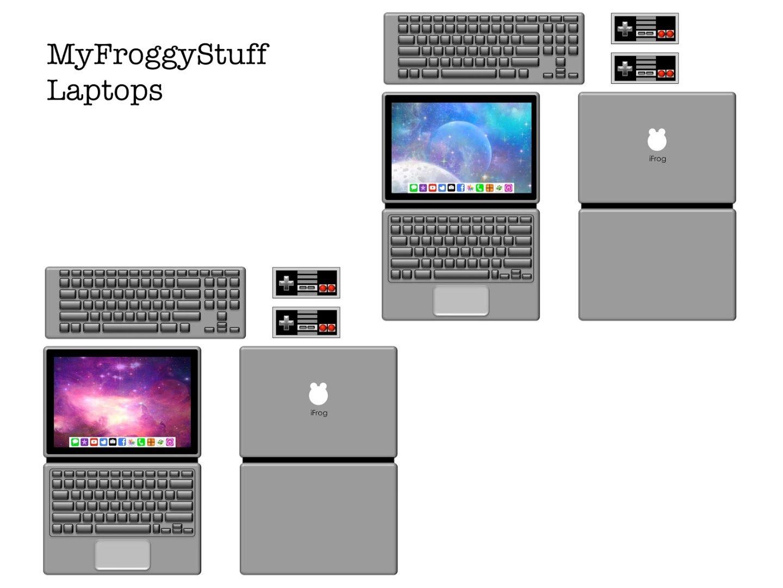 My Froggy Stuff Printables Laptop