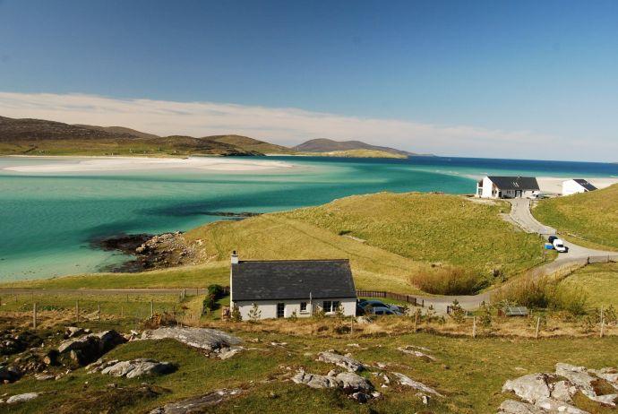 as praias mais bonitas do mundo luskentyre beach scotland