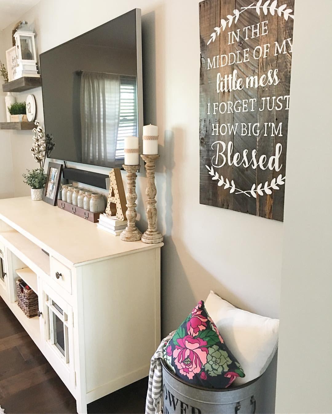 Split level living room, living room decor, farmhouse