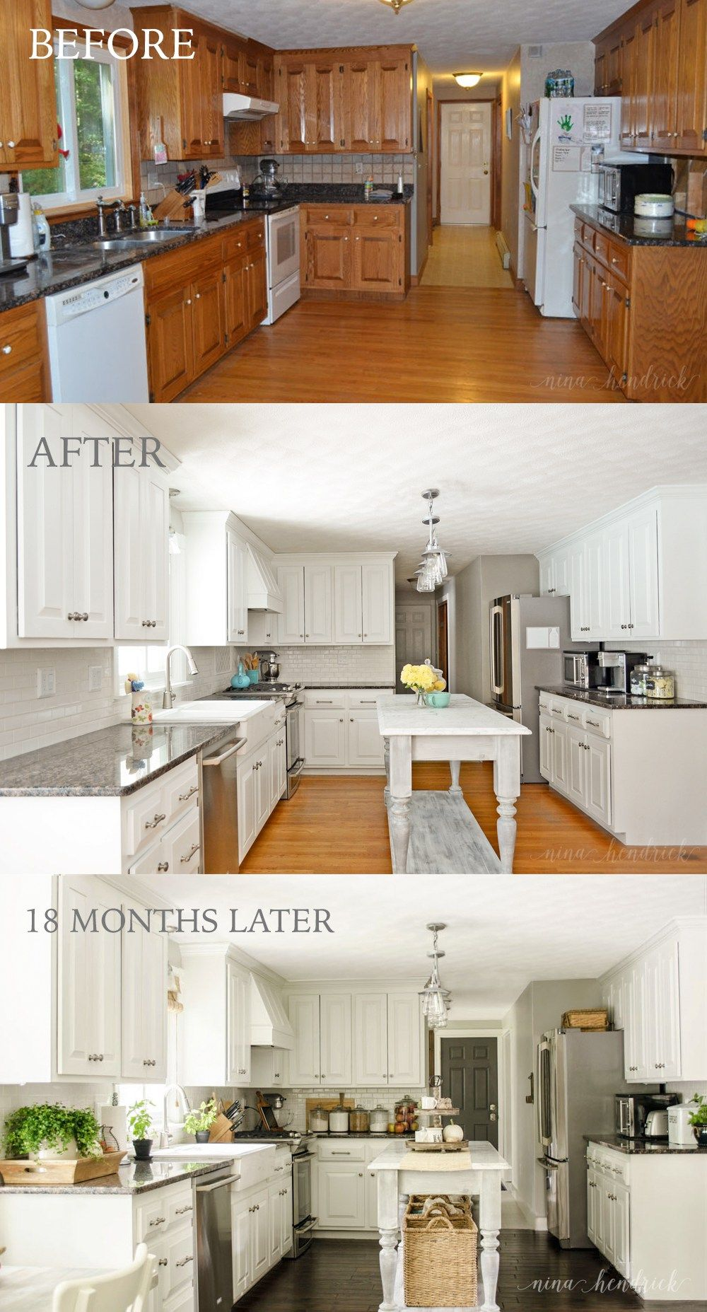 How to Paint Oak and Hide the Grain White