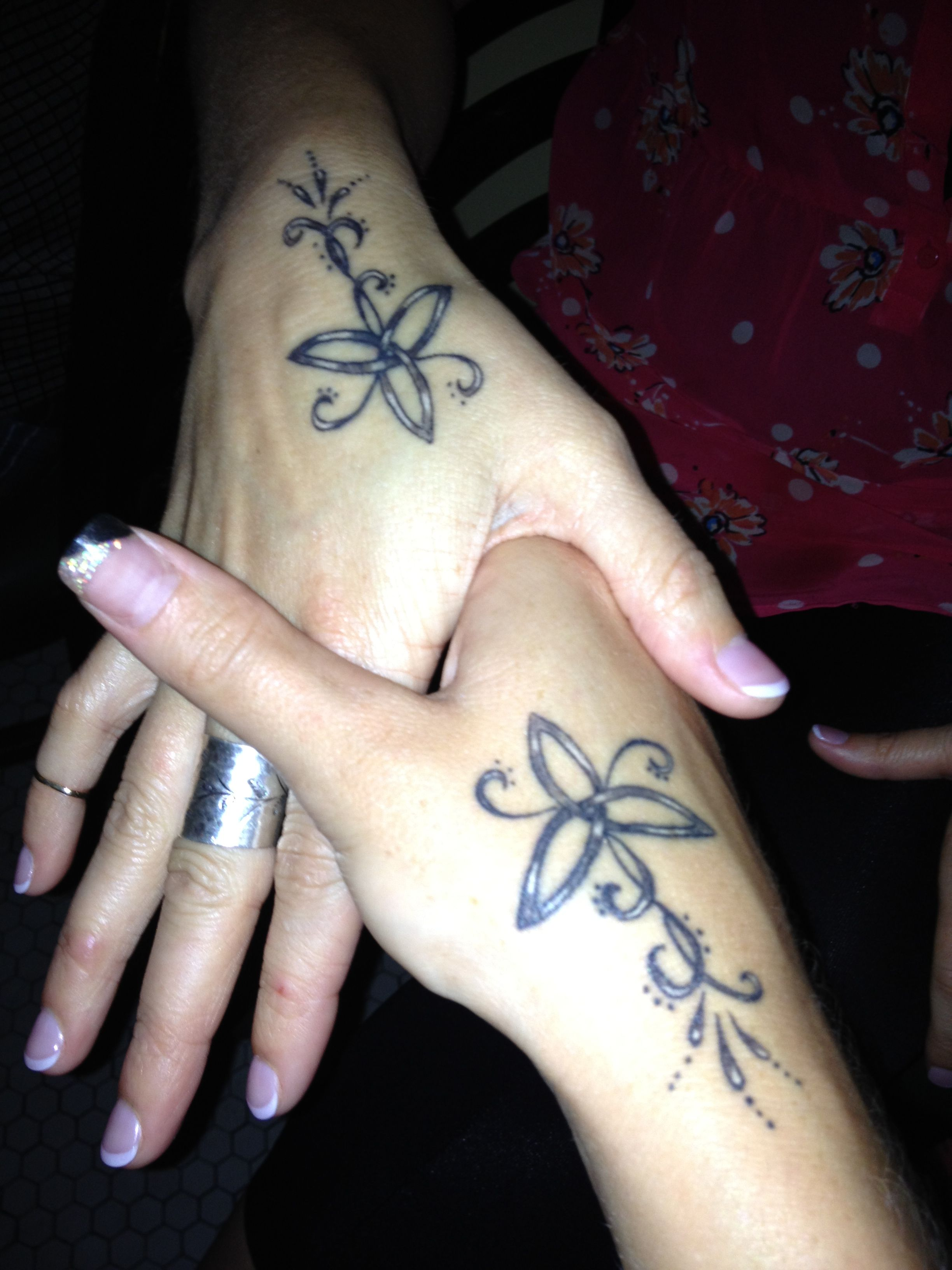 Best friend and sisters tattoo!!! Random Pinterest