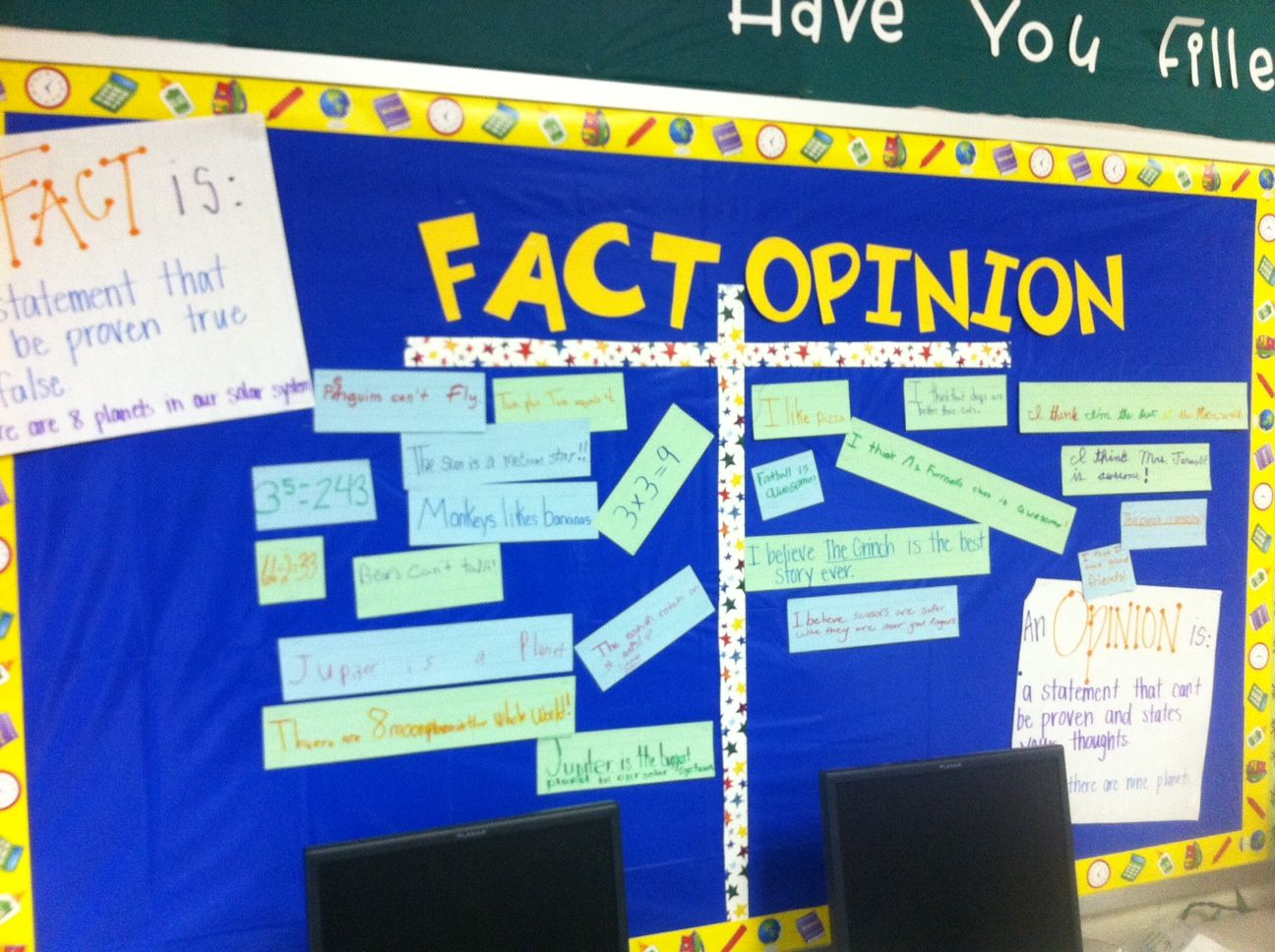Fact And Opinion Messyjofuspot 12 Thats Fact