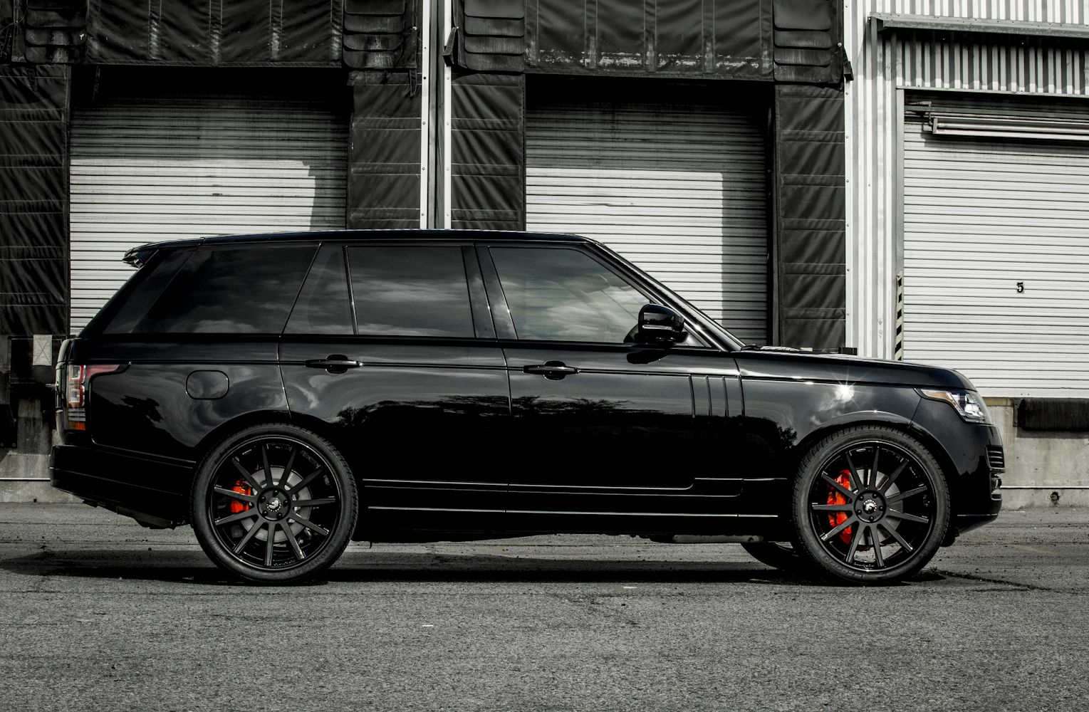 Range Rover ALL BLACK everything Motors Pinterest