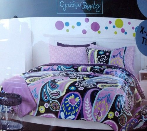 Cynthia Rowley Comforter Twin Xl 9 Piece Complete College