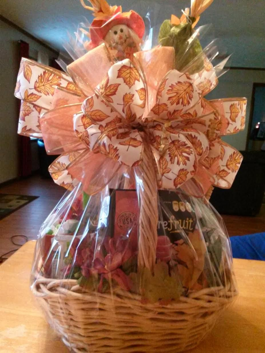 Fall harvest gift basket how to make a gift basket diy