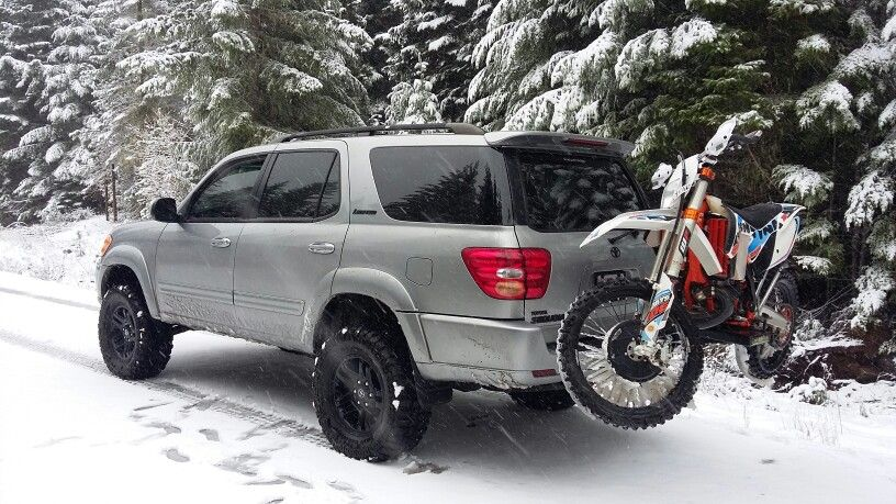 Lifted Sequoia toyota Pinterest Toyota, Cars and Vehicle