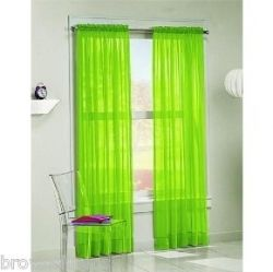 Lime Green Curtains Totally For Me