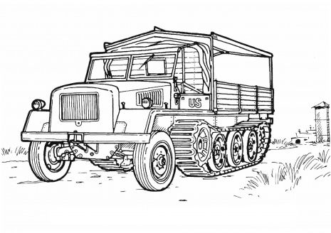 1000 images about military vehicles coloring pages on pinterest