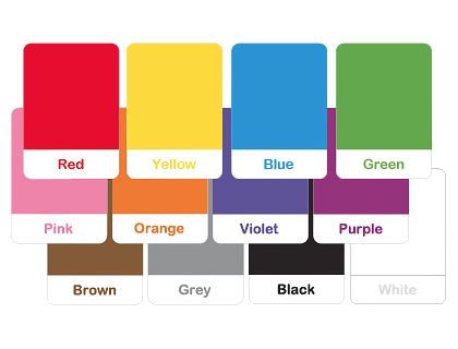 1000 images about colors shapes on pinterest sorting color