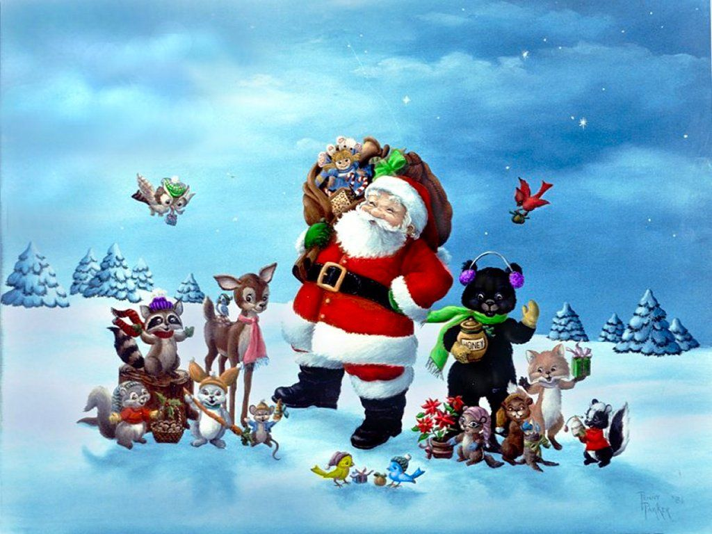 3d+animated+christmas+desktop+wallpaper | christmas desktop