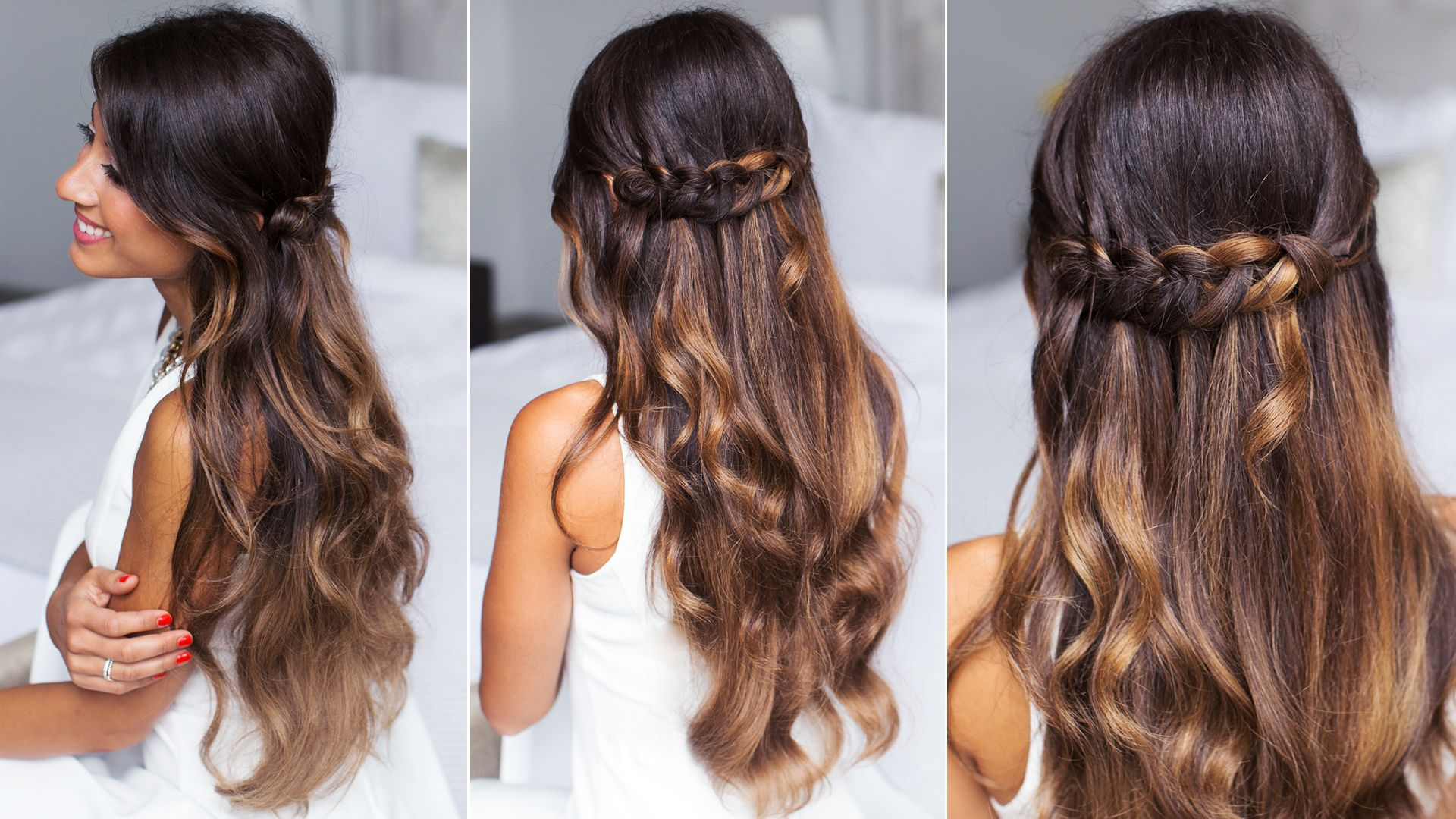 Luxy Hair loop waterfall braid beauty hair Pinterest
