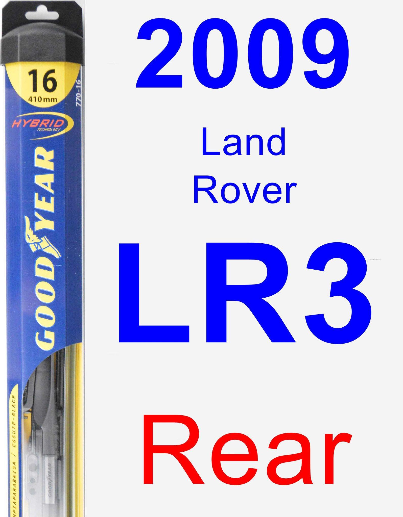 Wiper Blade for 2009 Land Rover LR3 Hybrid