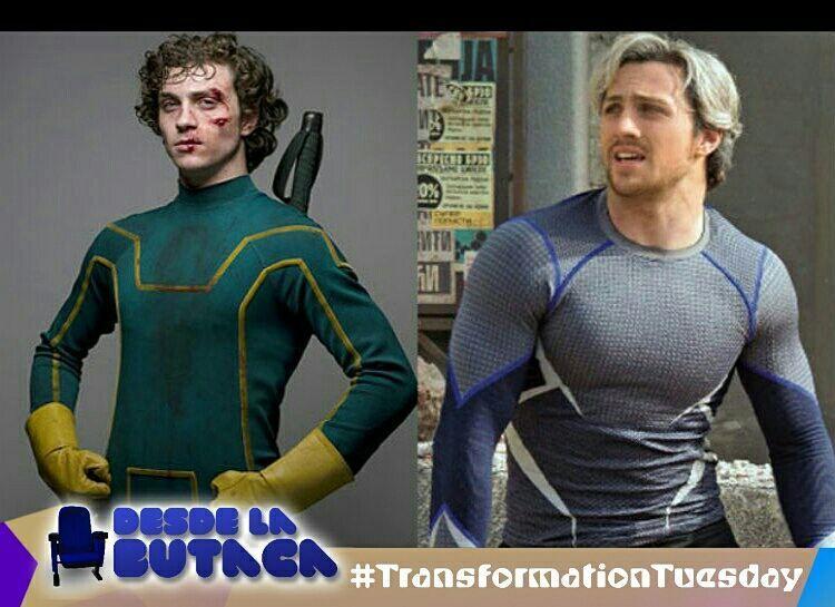Hoy es #TransformationTuesday y les traemos al actor Aaron ...