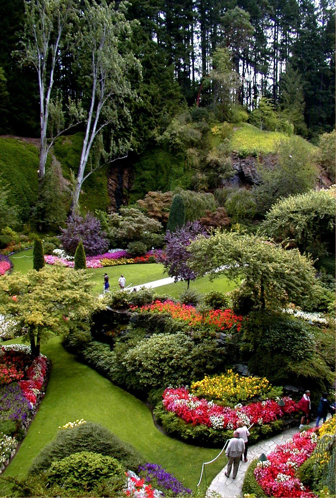 Butchart Gardens, Victoria, B.C. I want to make the ranch