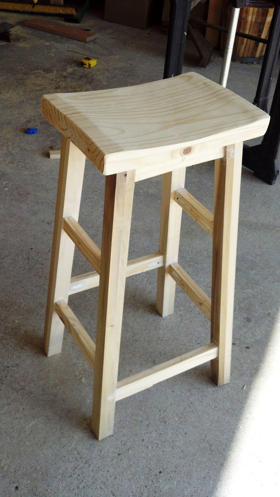 DIY Barstools.... Add to the honey please do list