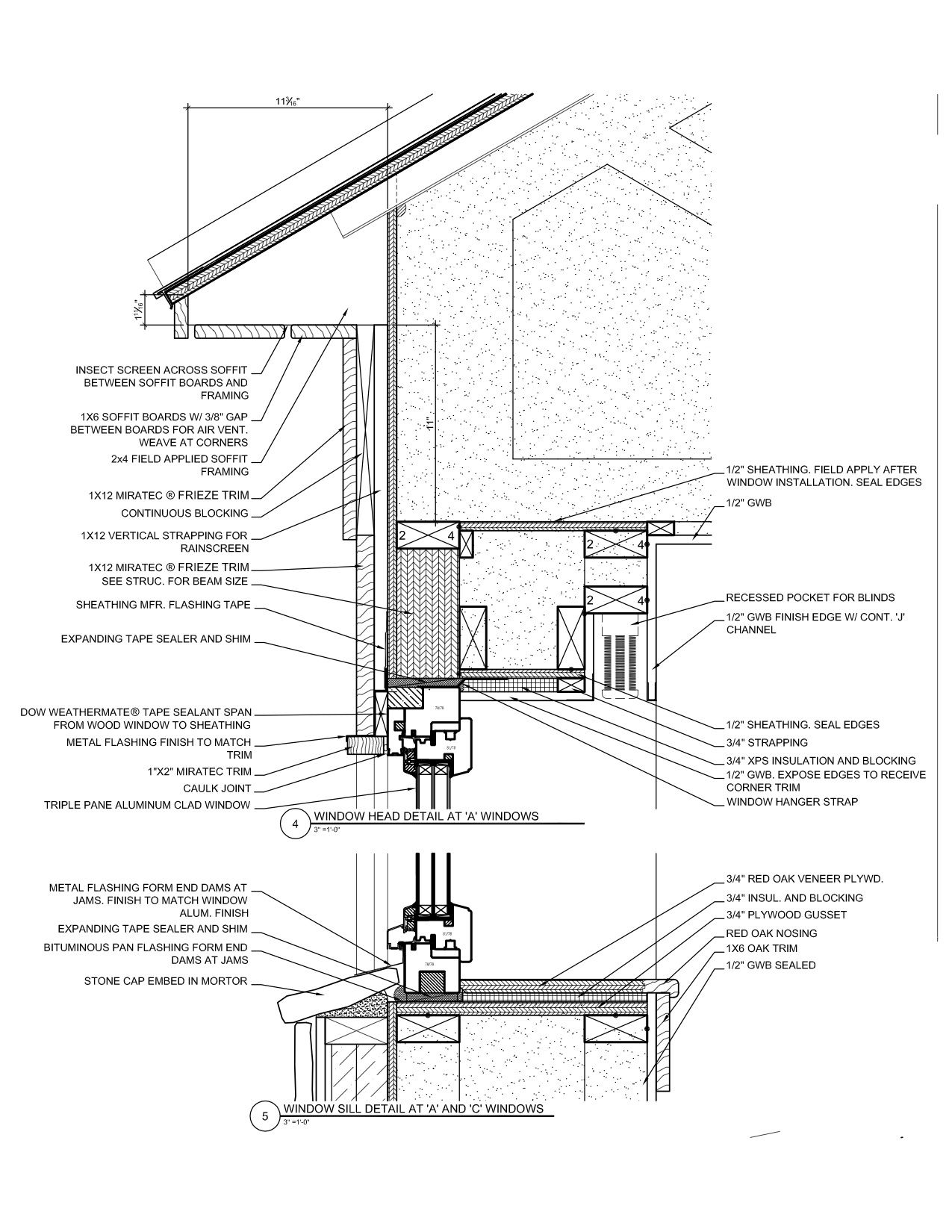Chris Briley S Drawing Shows The Installation Details For