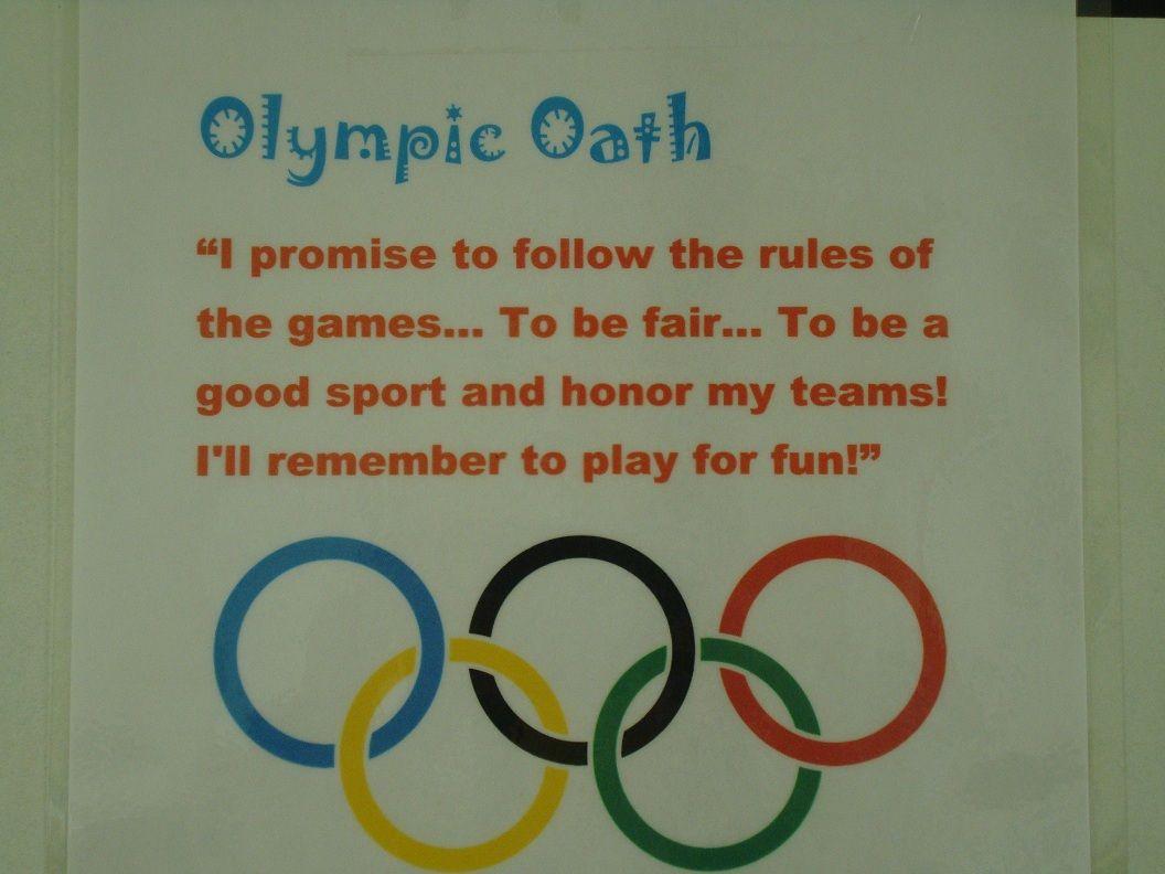 Favorite Preschool Summer Olympic Activities