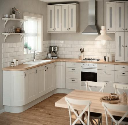 B&Q IT Stonefield Stone Classic Style Kitchen. Kitchen