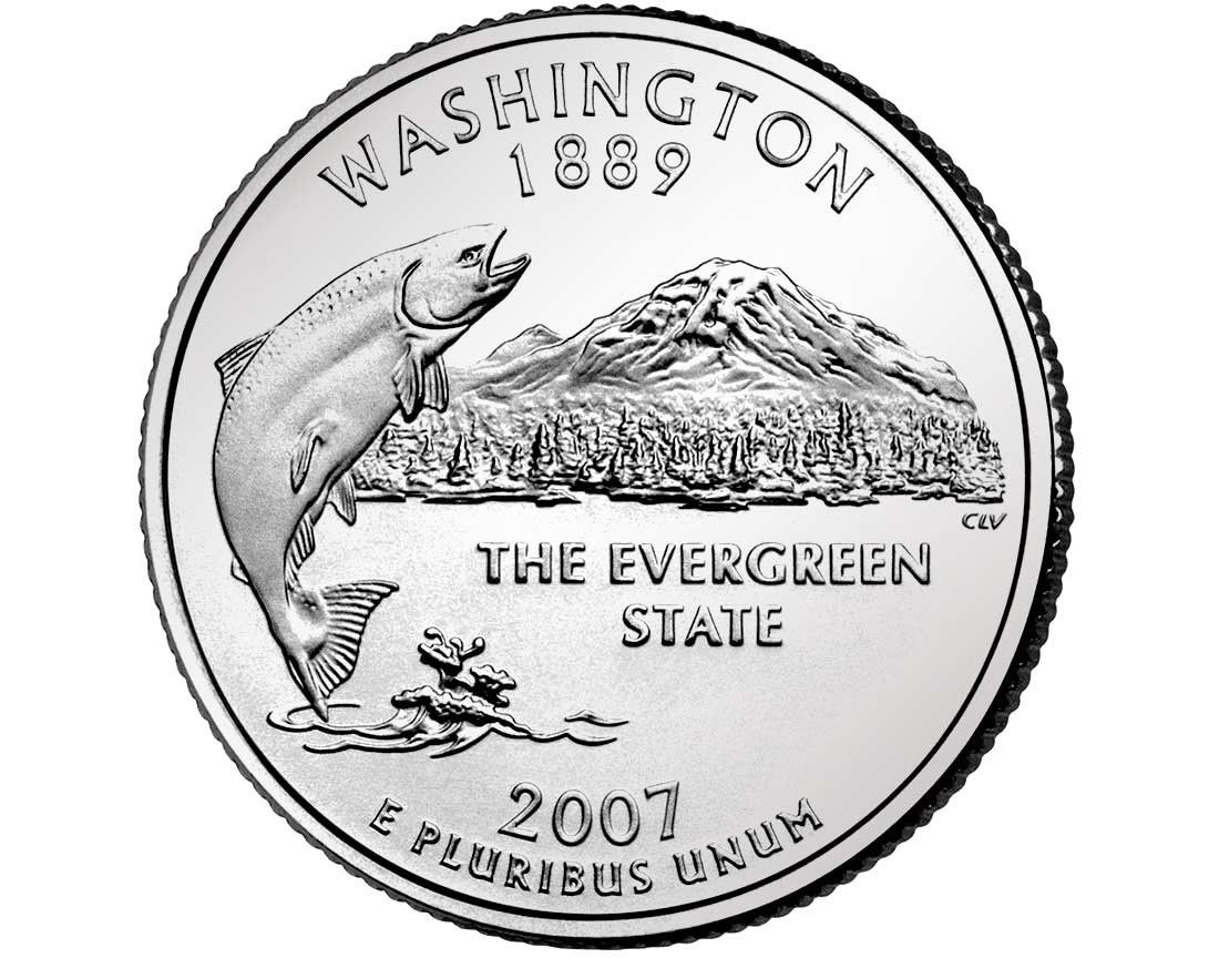 Image Detail For Washington State Quarter Collection