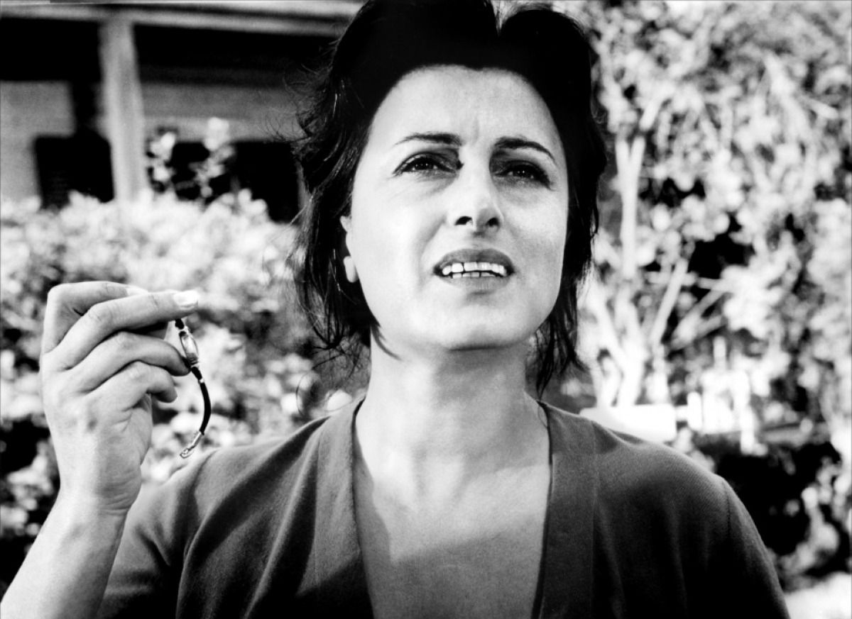 "Anna Magnani as Serafina Delle Rose in ""The Rose Tattoo"