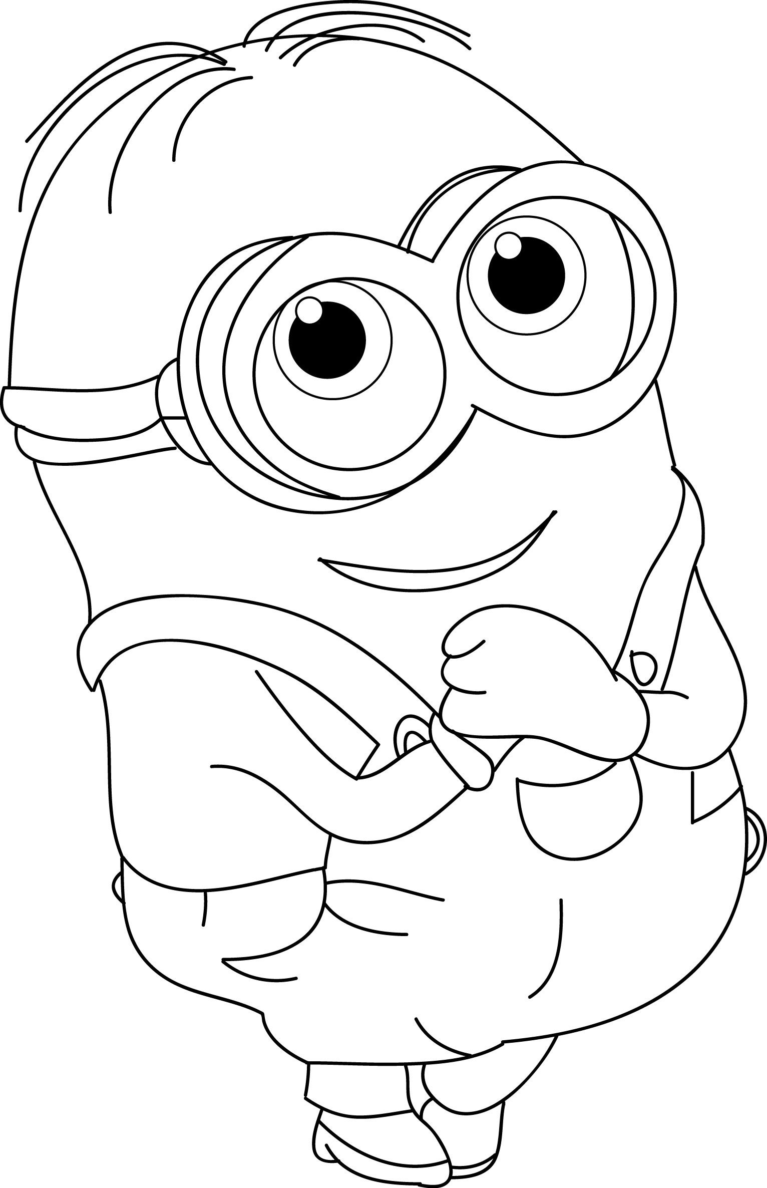 coloring pictures of cute animals minion Google Search