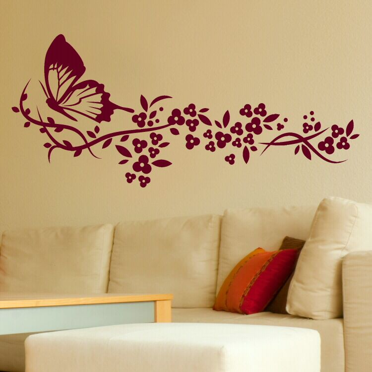 flower wall stencils - google search | templates | pinterest