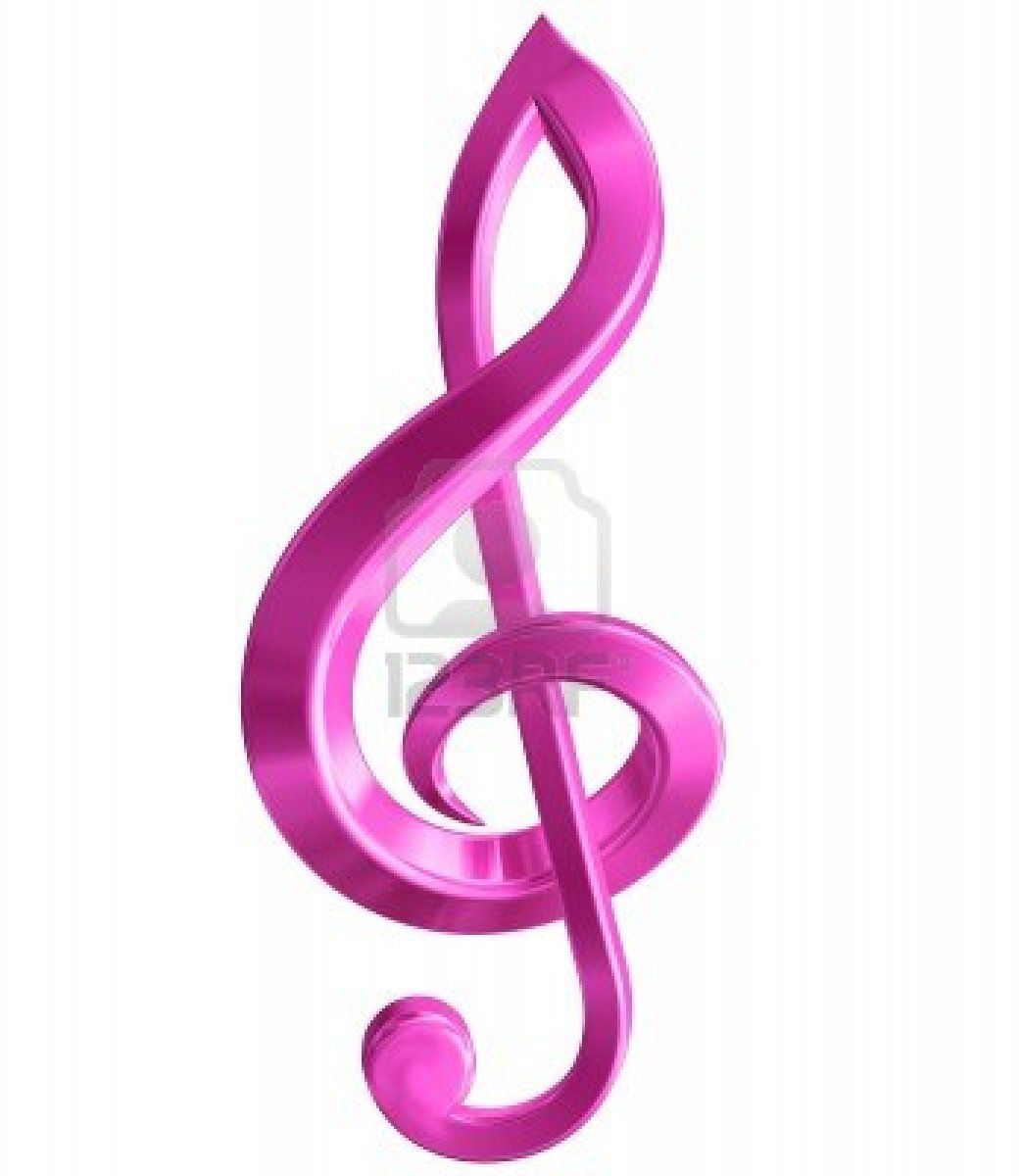 Colorful Music Notes Symbols Gilaffirmations