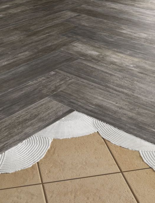 Install Thinnertile Right Over Old Outdated Tile Floors