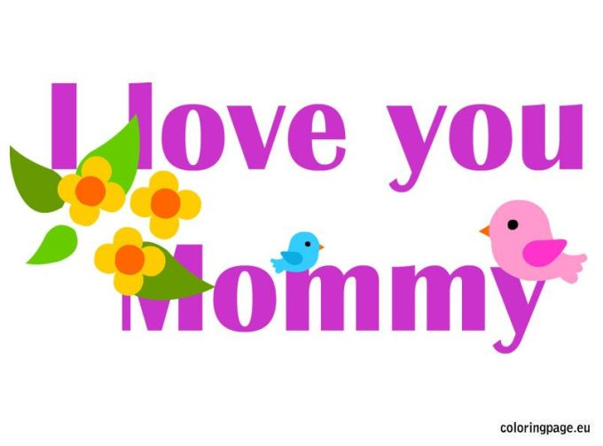 I Love You Mummy Picture Frame | Siewalls.co