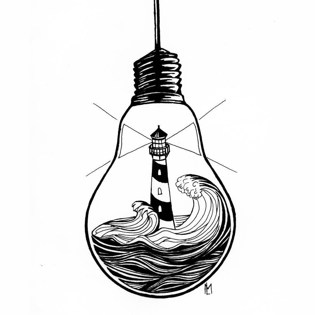 Lantern With Something Nursing Inside