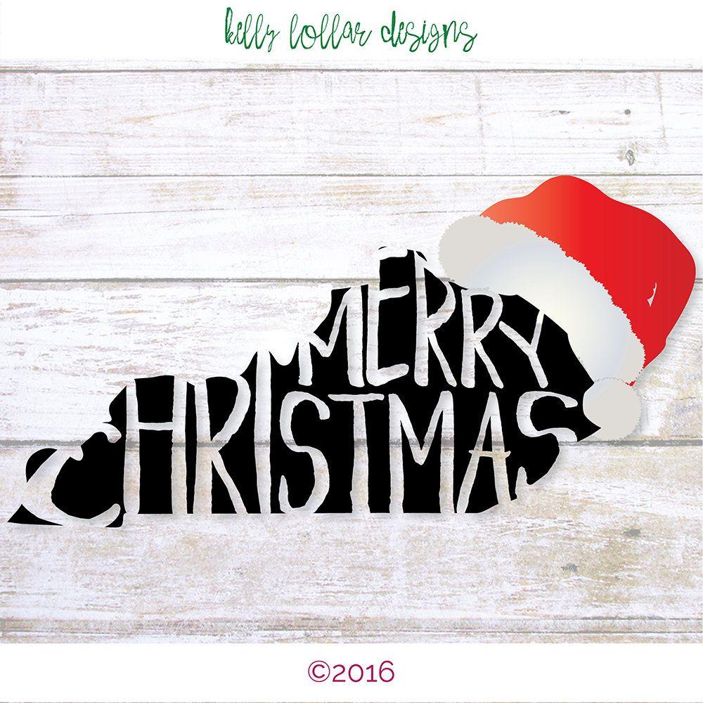 Kentucky Christmas Kentucky svg Merry Christmas svg