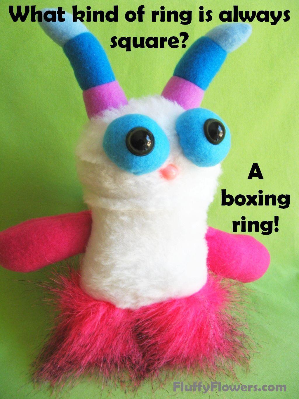 cute & clean boxing kids joke for children featuring an