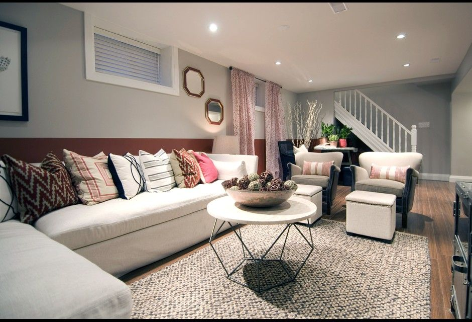 Finished Basement Living Room Photos HGTV Canada
