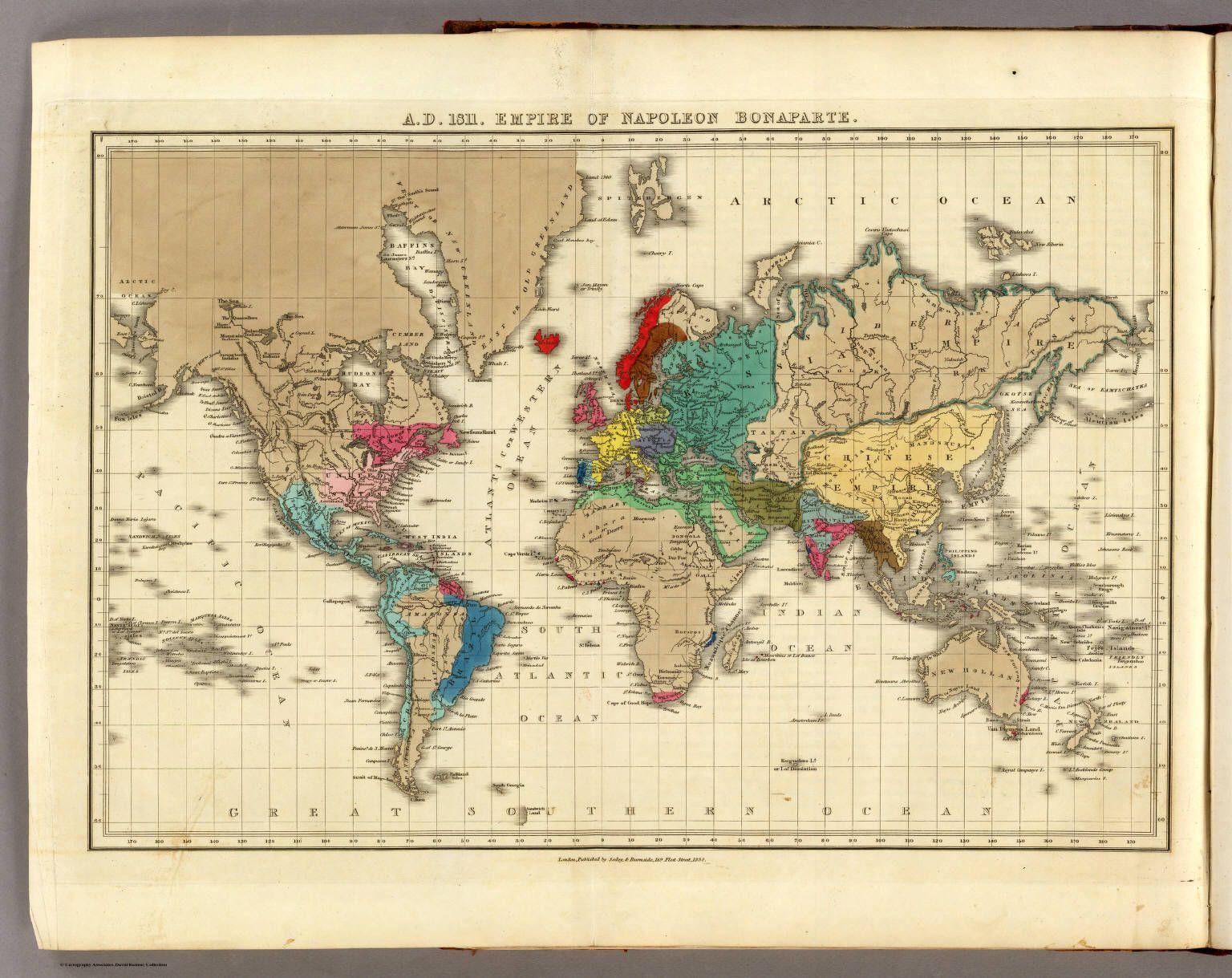 D 1811 Empire Of N Pole B P Rte Diy Rts Cr Fts