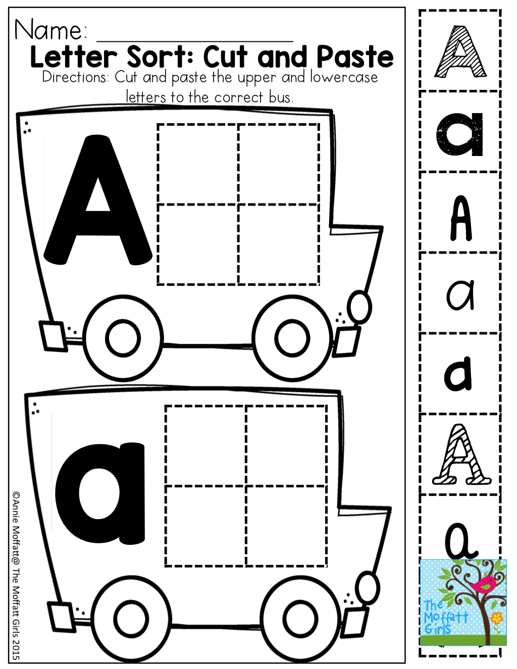 Cut And Paste Letter Recognition With Different Fonts