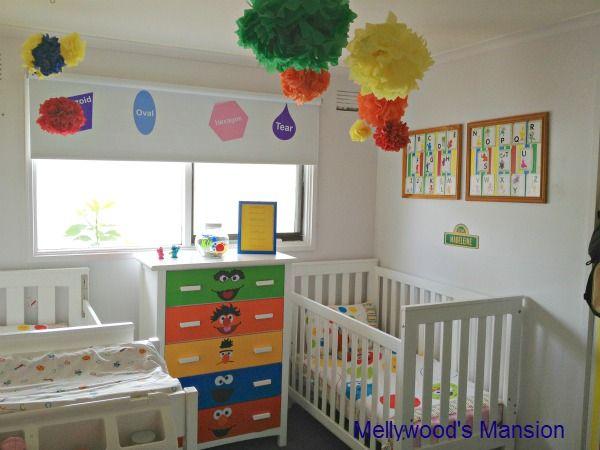 I Created This Sesame Street Themed Nursery For A Boy