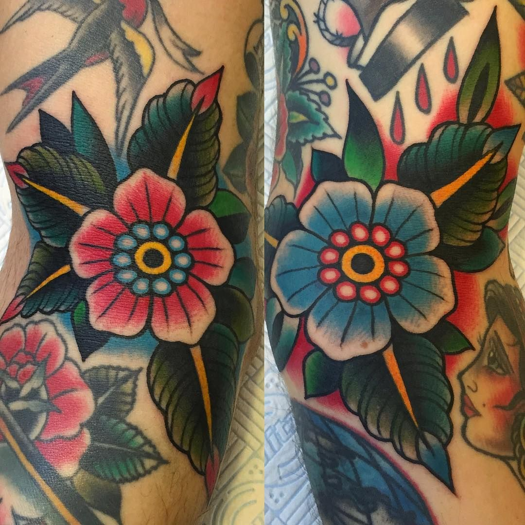 Flower Power! Freehand on ditch. Thank you Nicola