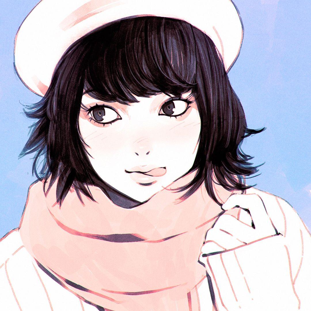 Pin by Hiếu Lê on chac Pinterest Berets, Manga girl