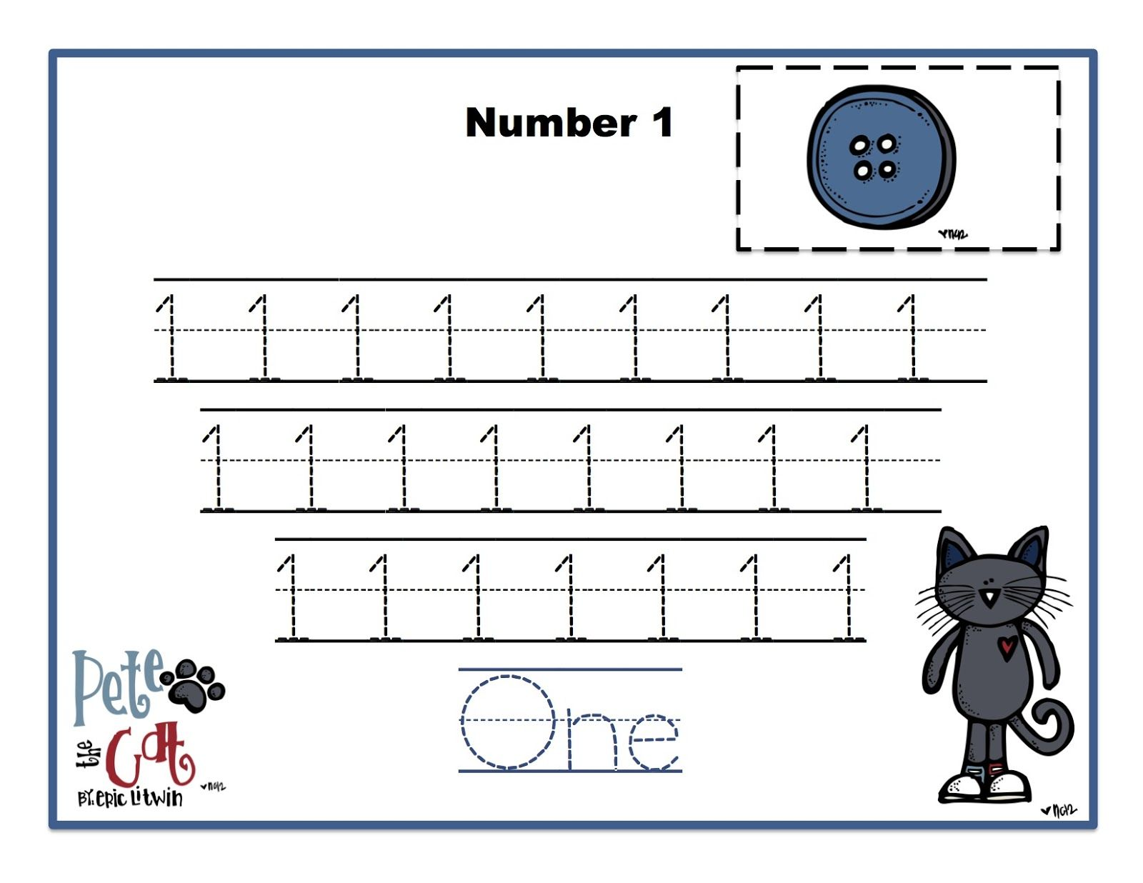 Pete The Cat Pattern Worksheet