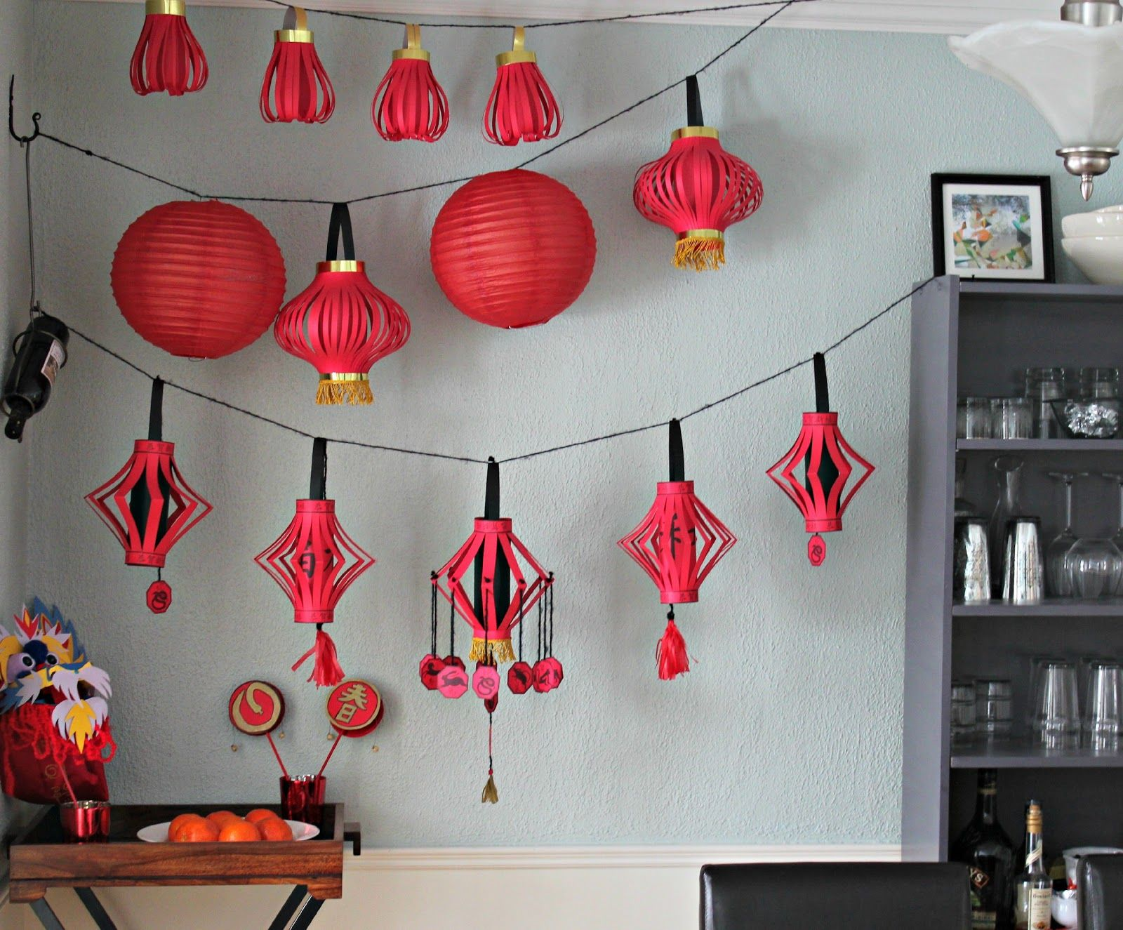 8 Stylish and easy Chinese New Year decorations