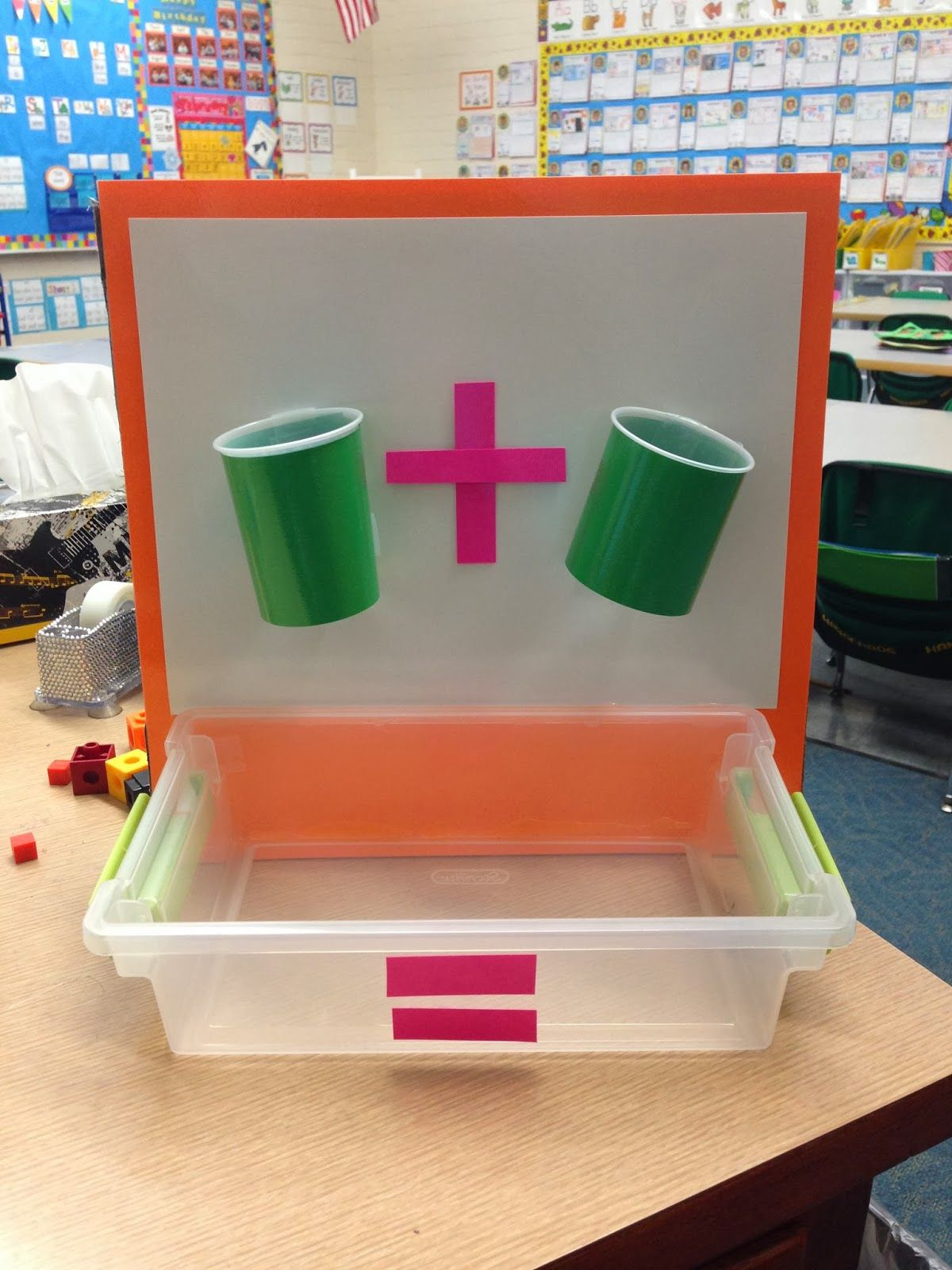 Sweet Sounds Of Kindergarten Math Addition Cups Cups