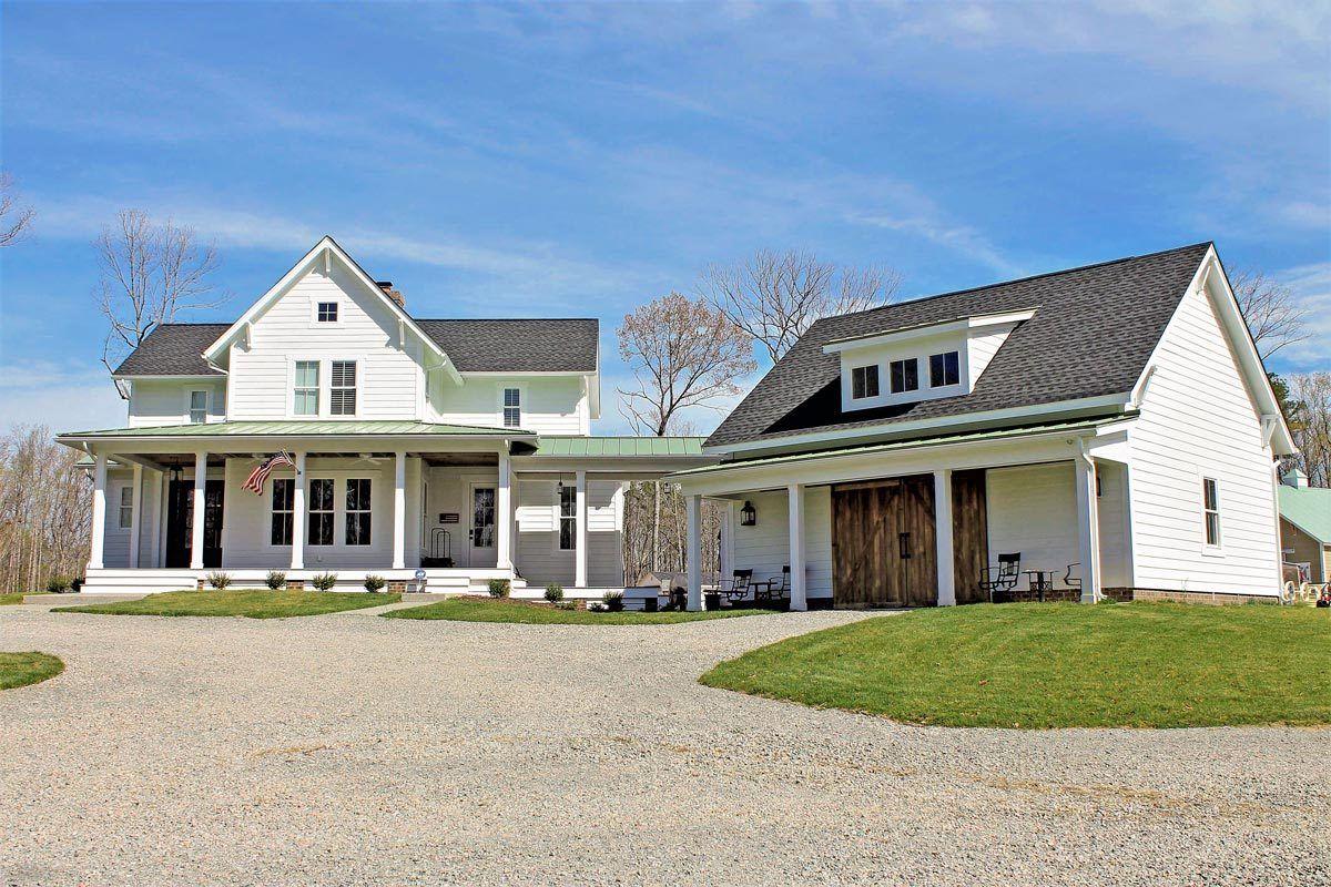 Plan 500018VV: Quintessential American Farmhouse With