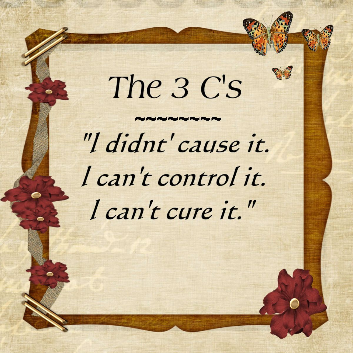 The 3 C S Of Al Anon This Principle Applies To Many Of
