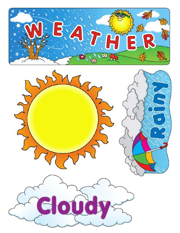 Weather Bear Printables.pdf classroom decor Pinterest