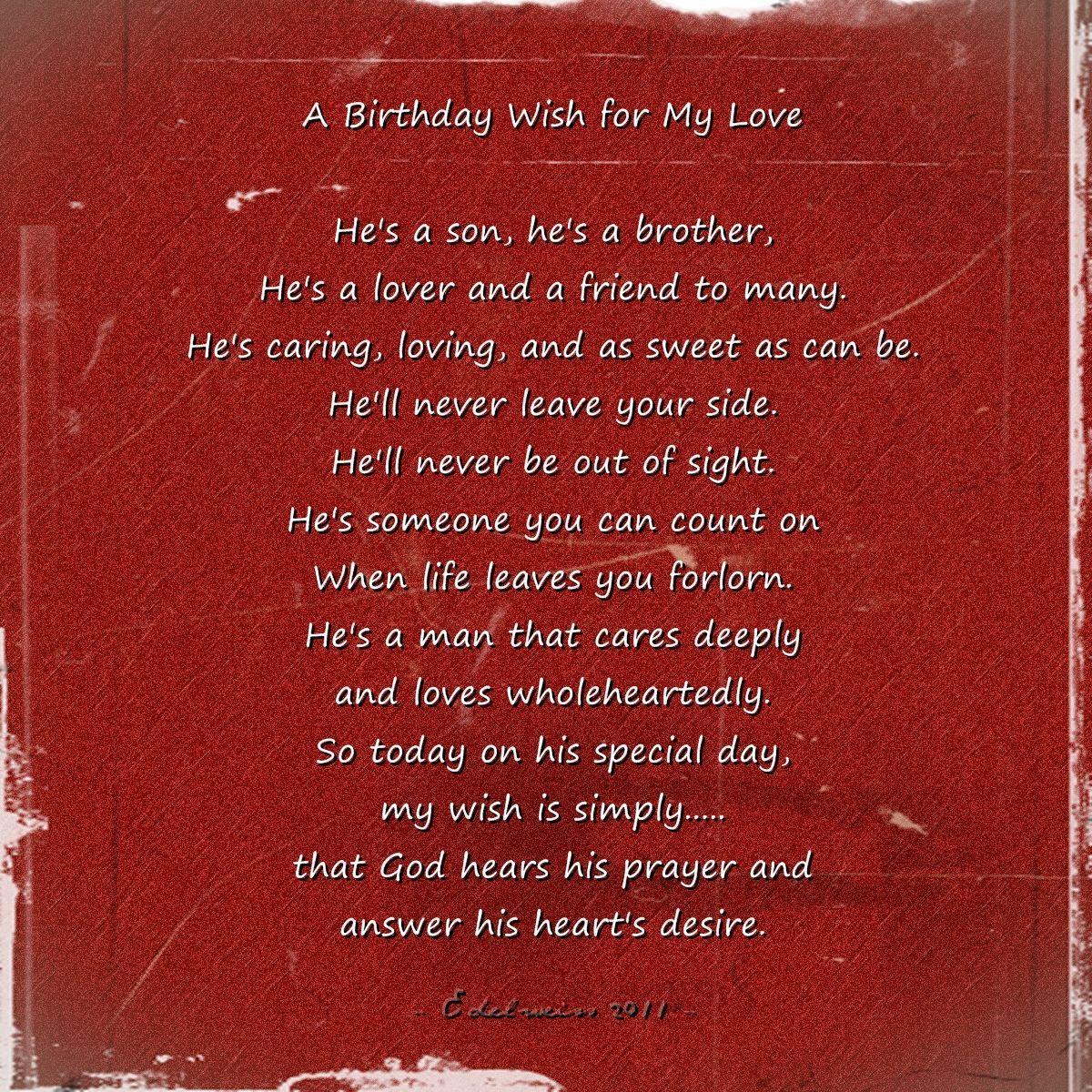 Happy Birthday My Love! ♥ Happy birthday, Success quotes
