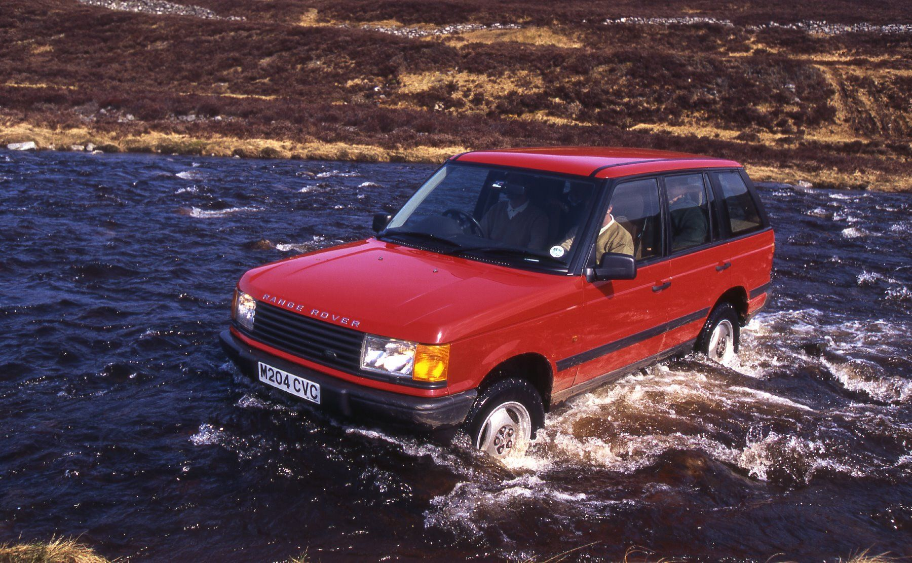 In 1994 the P38a Range Rover the first all new Range Rover in 25