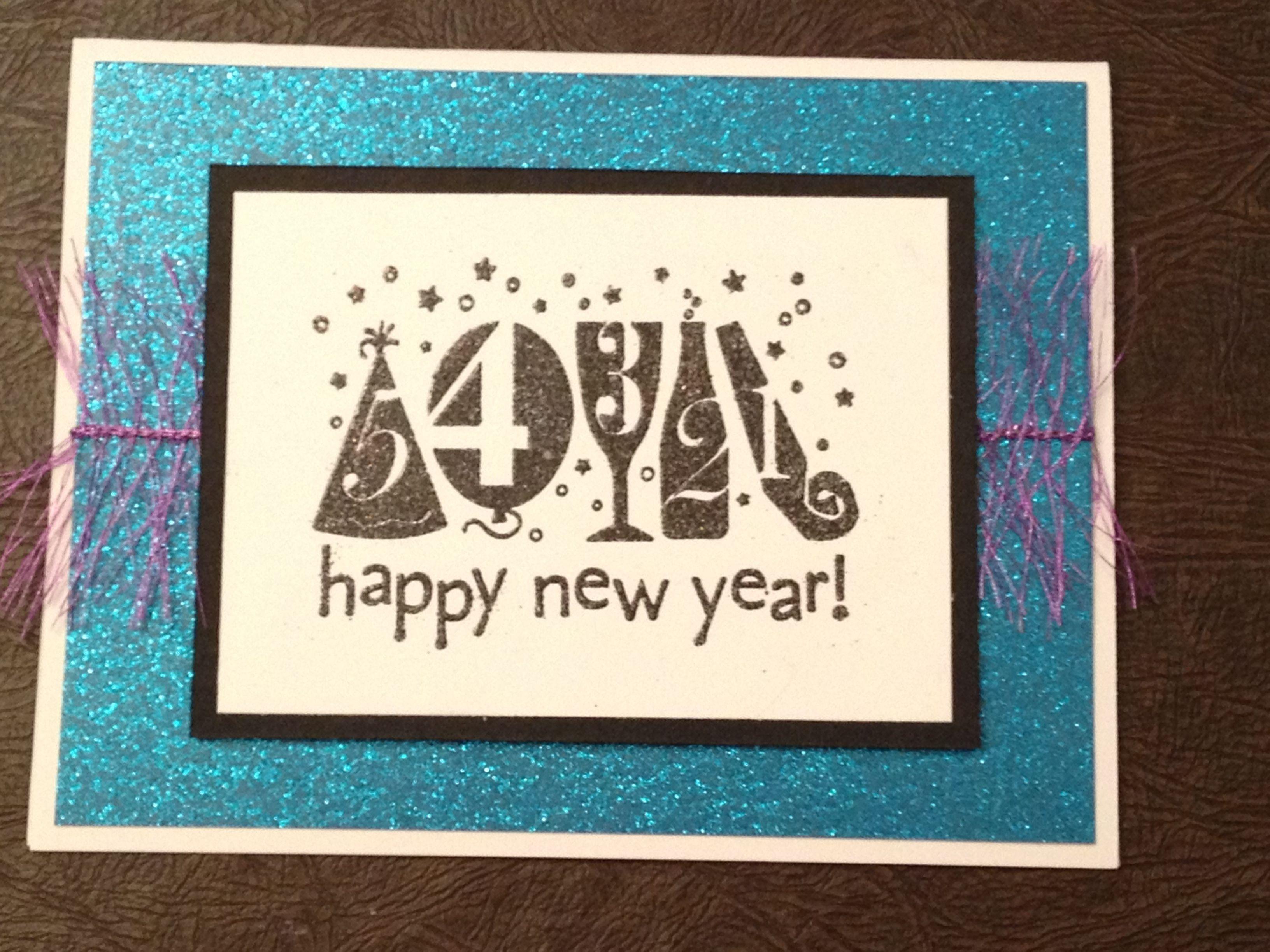 Happy New Year! Card My Beautiful Handmade Cards